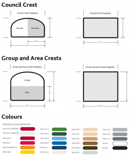 crests specifications scouts canada wiki